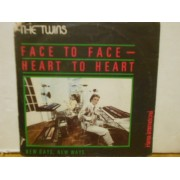 """FACE TO FACE - HEART TO HEART - 7"""" ITALY"""