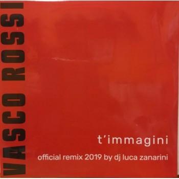 """T'MMAGINI - 12"""" RED VINYL"""