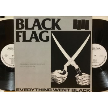 EVERYTHING WENT BLACK - 2 LP