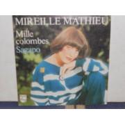 """MILLE COLOMBES / SAGAPO - 7"""" FRANCIA"""