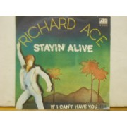 "STAYIN' ALIVE - 7"" ITALY"