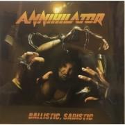 BALLISTIC SADISTIC - AMBER VINYL LP
