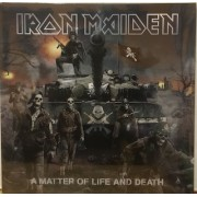 A MATTER OF LIFE AND DEATH - 2x180 GRAM