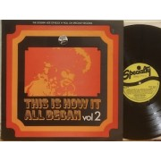 THIS IS HOW IT ALL BEGAN VOL.2 - LP UK
