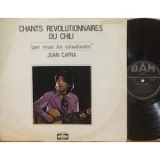 CHANTS REVOLUTIONNAIRES DU CHILI - 1°st FRANCIA