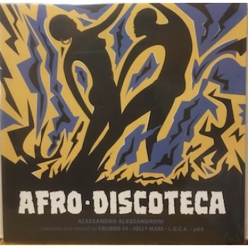 """AFRO DISCOTECA (REWORKED AND RELOVED) - 12"""" ITALY"""