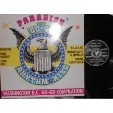 PARADISE A GO-GO WASHINGTON D.C. GO-GO COMPILATION - LP UK