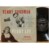 """BENNY GOODMAN WITH PEGGY LEE - 10"""" NETHERLANDS"""