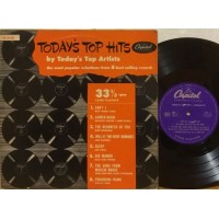 """TODAY'S TOP HITS BY TODAY'S TOP ARTISTS - 10"""" USA"""