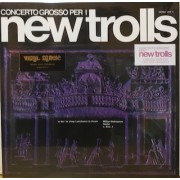 CONCERTO GROSSO PER I NEW TROLLS - CLEAR RED