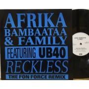 "RECKLESS - 12"" UK"