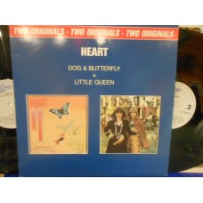 DOG & BUTTERFLY + LITTLE QUEEN - 2 LP