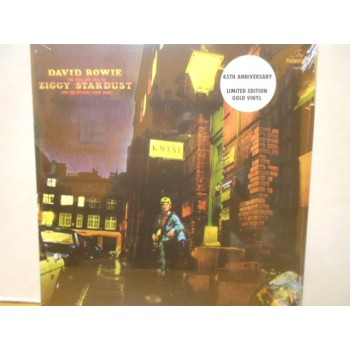 THE RISE AND FALL OF ZIGGY STARDUST AND THE SPIDERS FROM MARS - GOLD VINYL