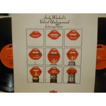 ANDY WARHOL'S VELVET UNDERGROUND FEATURING NICO - 2 LP