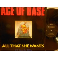"""ALL THAT SHE WANTS - 12"""" GERMANY"""