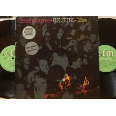 """CRASH COURSE - LIVE - LP + 12"""""""