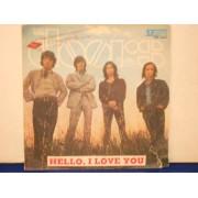 """HELLO I LOVE YOU / LOVE STREET - 7"""" ITALY"""