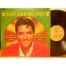 ELVIS' GOLD RECORDS - VOLUME 4 - LP ITALY