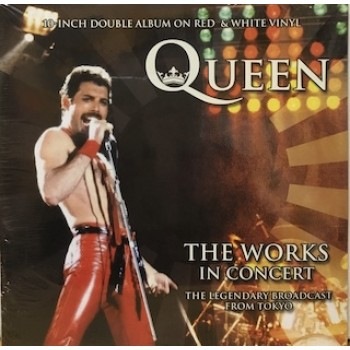 """THE WORKS IN CONCERT - 2X10"""" RED/WHITE VINYL"""
