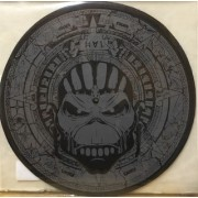 TURNTABLE SLIPMATS - IRON MAIDEN THE BOOK OF SOULS