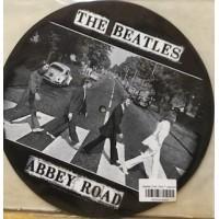 TURNTABLE SLIPMATS - THE BEATLES ABBEY ROAD