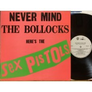 NEVER MIND THE BOLLOCKS HERE'S THE SEX PISTOLS - 1°st CANADA