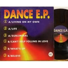 """DANCE E.P. - 12"""" EP"""
