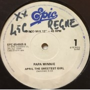 """APRIL THE SWEETEST GIRL - 12"""" ITALY"""
