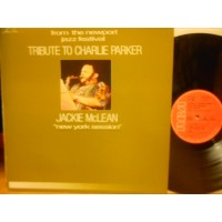 TRIBUTE TO CHARLIE PARKER + NEW YORK SESSION - LP FRANCIA