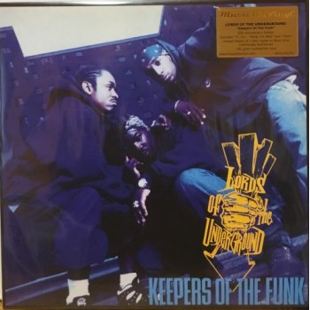 KEEPERS OF THE FUNK - 2 X BLUE VINYL