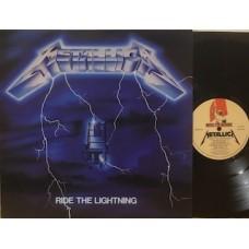RIDE THE LIGHTNING - 1°st UK