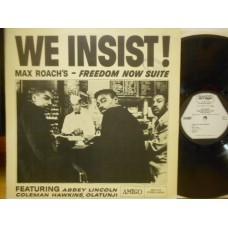 WE INSIST!MAX ROACH'S FREEDOM NOW SUITE - LP SWEDEN