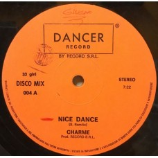 "NICE DANCE - 12"" ITALY"