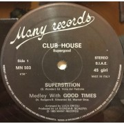 """SUPERSTITION MEDLEY WITH GOOD TIMES - 12"""" ITALY"""