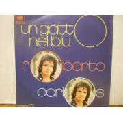 """UN GATTO NEL BLU - 7"""" ITALY"""