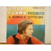 """PROIBITO - 7"""" ITALY"""