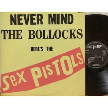 NEVER MIND THE BOLLOCKS HERE'S THE SEX PISTOLS - 1°st FRANCIA