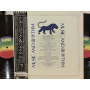 MUSIC AND RHYTHM - 2 LP JAPAN