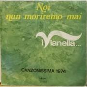 """NOI NUN MORIREMO MAI - 7"""" ITALY"""