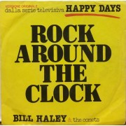 "ROCK AROUND THE CLOCK - 7"" ITALY"