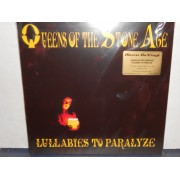 LULLABIES TO PARALYZE - 2 x RED VINYL + ETCHED SIDE VINYL