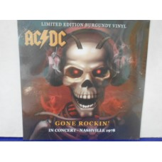 GONE ROCKIN' - IN CONCERT - NASHVILLE 1978 - BURGUNDY VINYL