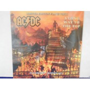 A LONG WAY TO THE TOP - IN CONCERT - SIDNEY 1977 - FLAME VINYL