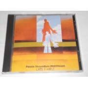 PASSIO SECUNDUM MATTHEUM - CD