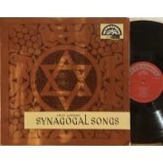 SYNAGOGAL SONGS - LP CZECHOSLOVAKIA