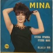 """STESSA SPIAGGIA STESSO MARE - 7"""" ITALY"""