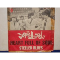 "HEART FULL OF SOUL / STEELED BLUES - 7"" ITALY"