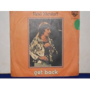 "GET BACK / THE FIRST CUT IS THE DEEPEST - 7"" ITALY"