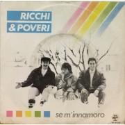 "SE M'INNAMORO - 7"" ITALY"