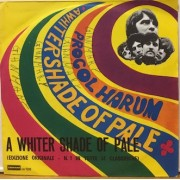 """A WHITER SHADE OF PALE - 7"""" ITALY"""